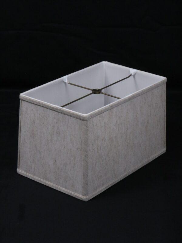 14 inch rectangle linen lamp shade