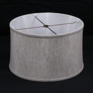 lamp shade, linen lamp shade, drum lamp shade