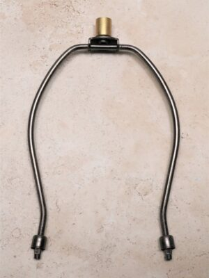 8 inch dark bronze lamp harp.