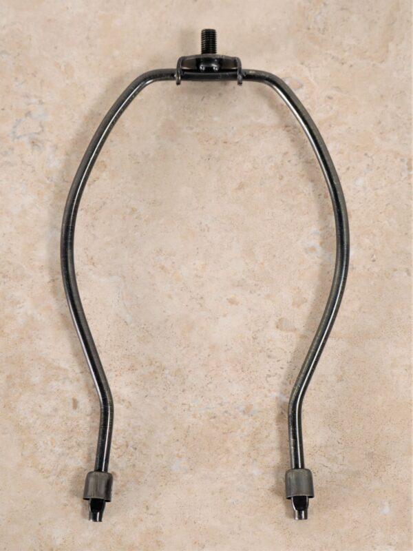 8 inch dark bronze lamp harp.